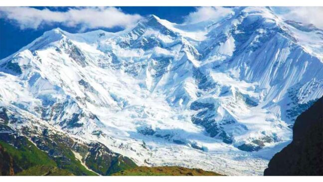 most beautiful places in pakistan Rakaposhi Base Camp