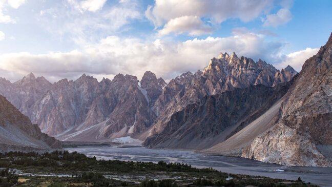 most beautiful places in pakistan Passu Cones